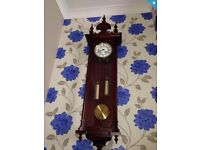 Vienna clock , twin weight