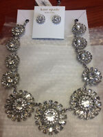 BRAND NEW/NEVER WORN - Kate Spade Necklace and Earrings
