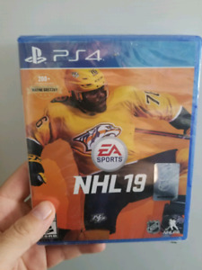 NHL 19 Sony Playstation 4 Sealed