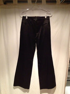 WOMENS BLACK BANANA REPUBLIC PANTS (SIZE 4)