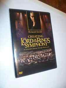 dvd-Creating The Lord of the Rings Symphony Gatineau Ottawa / Gatineau Area image 1