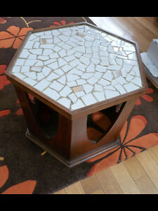 Unique mosaic tile  table