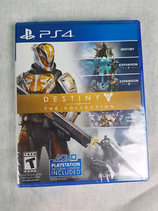 PS4 GAME - Destiny The Collection - NEW
