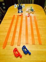 HOT WHEELS TRACKS / CLAMPS / ACCESSORIES LOT