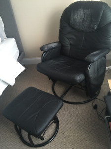 Rocker, swivel, recliner and  foot stool