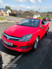 Vauxhall astra twin top air 1.6