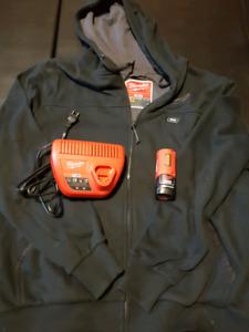 Milwaukee heated hoodie with battery