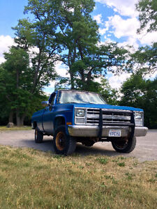 1986 CHEVY K10 project NEED GONE