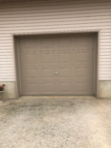 9x7 insulated garage door for sale