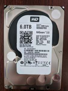 Western digital red 6tb nas hard drive