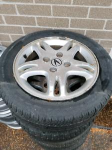 205/55/16 acura rims and tires