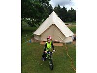 4 metre ultimate bell tent.