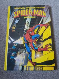 Marvel Spiderman annual vintage 1979. Near mint. Hardback. Retro