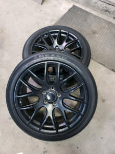 """4 mags 18"""" Dai Autobahn 5x114.3 comme neuf"""