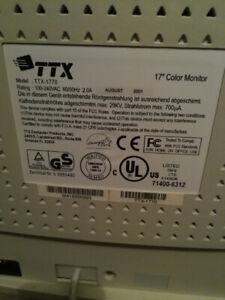 "Ecran ordinateur 17"" TTX crt"