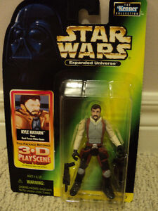 Star Wars Expanded Universe rare figure Kyle Katarn *NEW IN BOX*