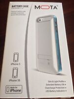 New mota battery case for iphone 5 and 5s