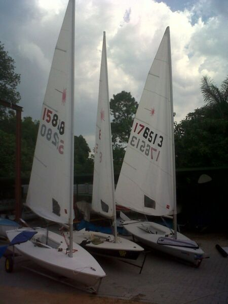 Laser, Laser two, Gypsy sailing dinghies