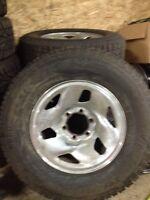 245/75r16 winter tires on rims