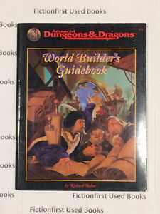 """Roleplay Manual: """"World Builder's Guidebook AD&D 2nd"""""""