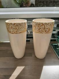 Tall vases