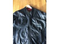 Superdry real Leather jacket
