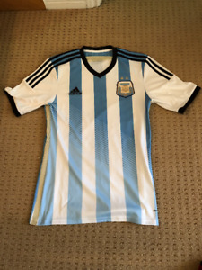 Adidas. Argentina Home Soccer Jersey. Men's small.