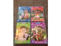4 In the Night Garden DVDs