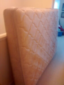 Queen size mattress about 17 months old asking 150 OBO!