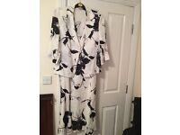 Designer dress and jacket. Size 18. 100% Linen