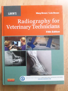 Radiography for Veterinary Technicians  Fifth Ed
