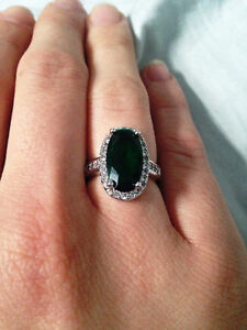 Size 5.5 Stunning Statement Ring - Sterling Silver