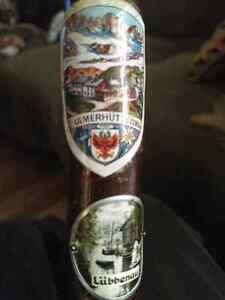 Vintage German made cane with badges London Ontario image 2