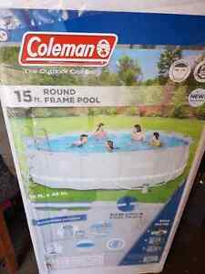 Brand new, still in box, Coleman 15 foot pool Regina Regina Area image 1