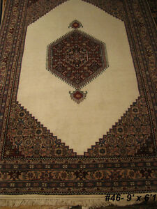 New Gorgeous Persian fine handmade area rug, just $7/sqf