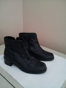 woman leather, shoe,   boots