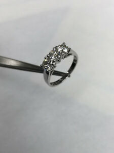 Trinity Diamond Ring - Awesome quality - Just one month old