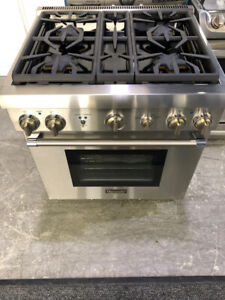 Thermador 30 ALL GAS Stainless Steel Range NEW $4500 as tor