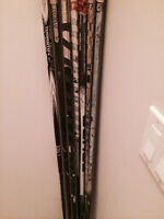 Variety of right handed composite sticks