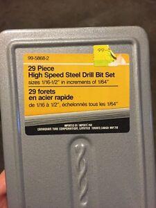 29 Piece Drill Bit Set