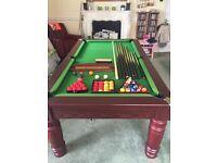 Pool table 6 x 3