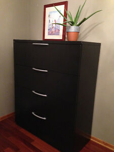 HQ 4 Drawer lateral file cabinet. Prices reduced to $300