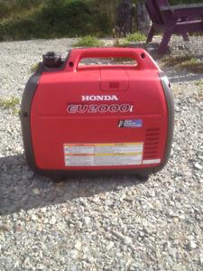 Honda Generator 2000, Glovertown