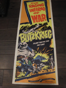 Rare 1959 War Movie Colour Litho Poster #59/292