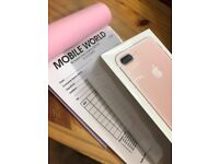IPhone 7 Plus 128gb Rose Gold 12 month apple warranty