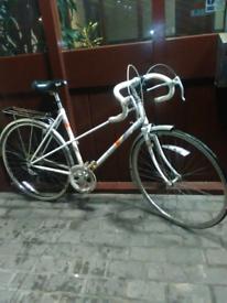 Raleigh bicycle ladies retro style