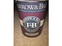 Brand new 10L Farrow & Ball Cornforth white paint