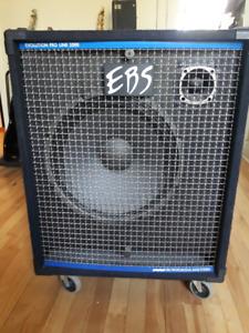 EBS evolution proline 2000 15 pouces 400w 4 ohms