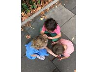 SWEDISH Weekend Nanny in Notting Hill wanted