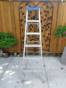 Used 6 ft. Aluminum Step Ladder in good condition